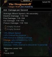 Dragonstaff augmented
