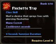 Flechette Trap