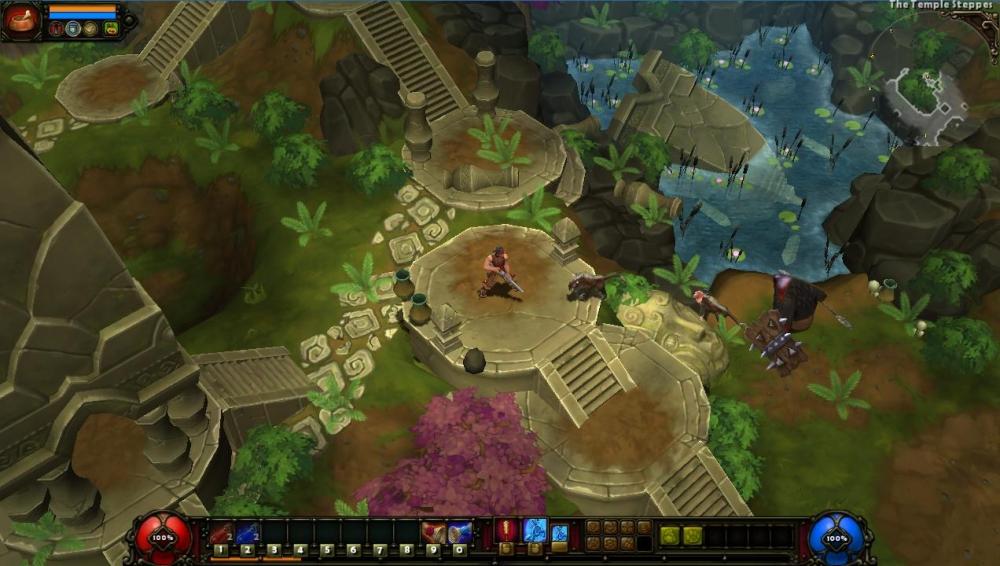 torchlight 2 maps