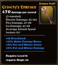 Gravity's Embrace