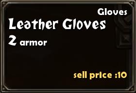 Leather Gloves Details
