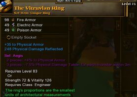 The Vitruvian Ring