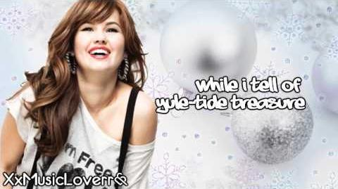 Debby Ryan - Deck The Halls (Lyrics Video) HD