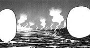 Gido nadando en la marea de Veneno(manga)