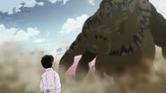 Grin tries to capture Komatsu