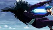 Toriko hits Starjun with Nail Gun