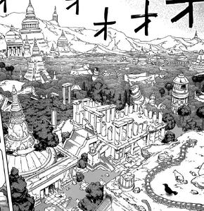 Ruinas de la civilizacion