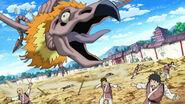 Chiyo's Beast attacking people