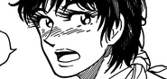 Komatsu after eating the Billion Bird egg