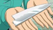 Cuchillo de Cocina de Komatsu (Roto)