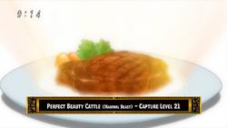 Carne de Ganado Perfectamente Hermosa