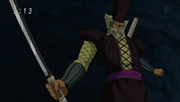 Dores con su espada