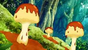 Puddingowo-Dęte Grzyby