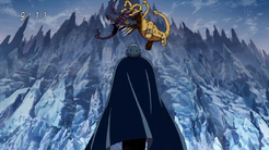 Alfaro llega al infierno de hielo