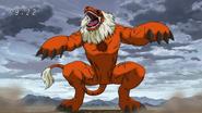 Gaoh hit by Toriko's Kugi Punch2
