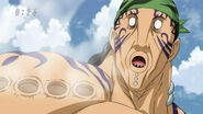 Grinpatch hit by Toriko's Flying Fork2