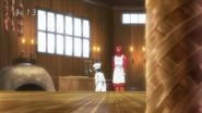 Komatsu cooks in Disappearing Cuisine