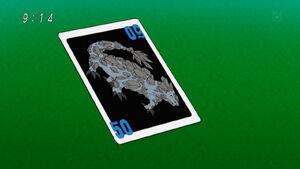 Rock Lizard card