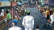 Coco, Toriko, and Komatsu in black market Eps 88