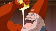 Livebearer eating Numblemon