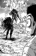 Starjun prevailing over Toriko
