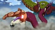 Shige's beast pierces Mansam