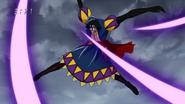 Joa attacks Jirou and Setsuno