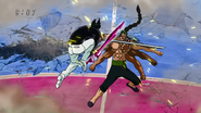Poison Sword vs Straw