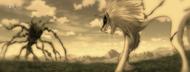 Wilk Bitewny walczy z Czterema Bestiami