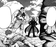 Mansam and Ichiryuu meet Toriko for the first time