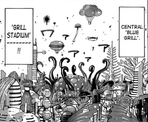 Grill Stadium and Central Blue Grill
