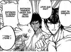Ichiryuu avergonzado de Jirou