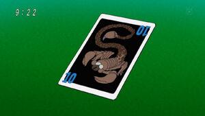 Caesar Snake card