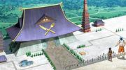 Torikoi Komatsu przy Świątyni Smakoszy