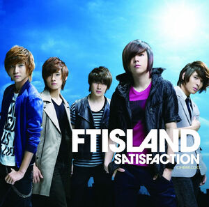 F.T. Island Satisfaction Cover 2