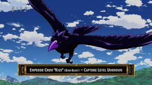 Emperor Crow, Kiss