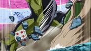 Nitro impales Yuda to the ground