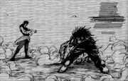 Młody Ichiryuu pokonuje Midore