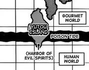 Mapa de la isla yotou