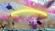 Breath Missile hits the stadium