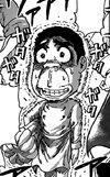 Komatsu being nervous