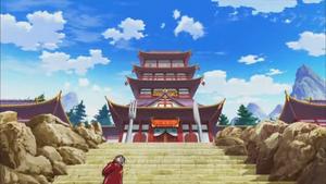 Shokurin entrance