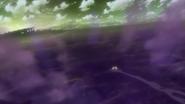 GT Robo de Gido nadando en la Marea de Veneno