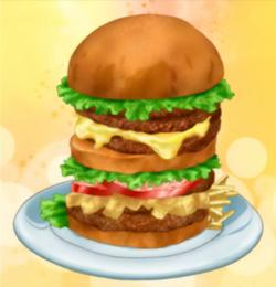 Toriko hamburguesa