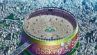 Cooking Stadium sky view