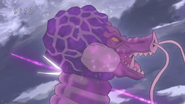 Invaithdeath hit by Coco's Mold Spear