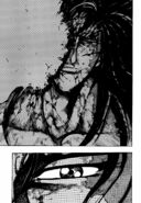 Starjun feeling Toriko's dangerous attack