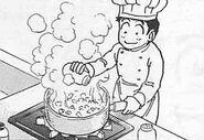 Bullet Acorn Cooking
