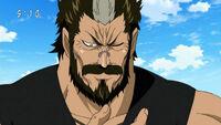 Shigematsu przygotowuje się do walki