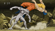 Nitro punching Toriko